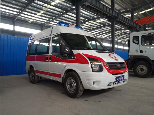 福特新世代(短轴)救护车