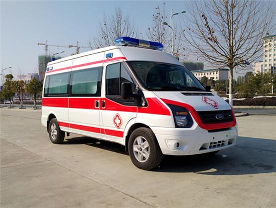 福特新世代长轴中顶救护车(监护型/运输型)