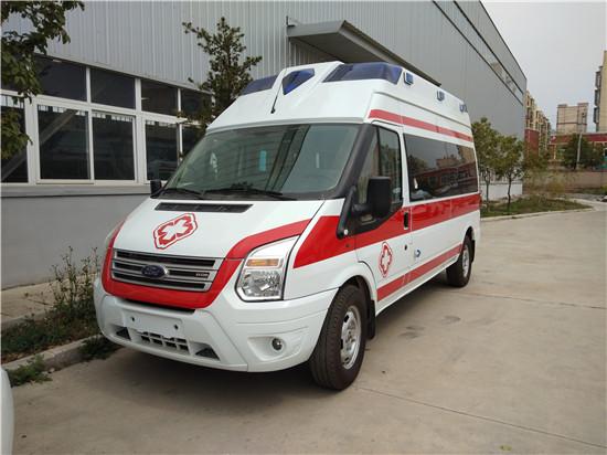 江铃福特新世代全顺(长轴)救护车