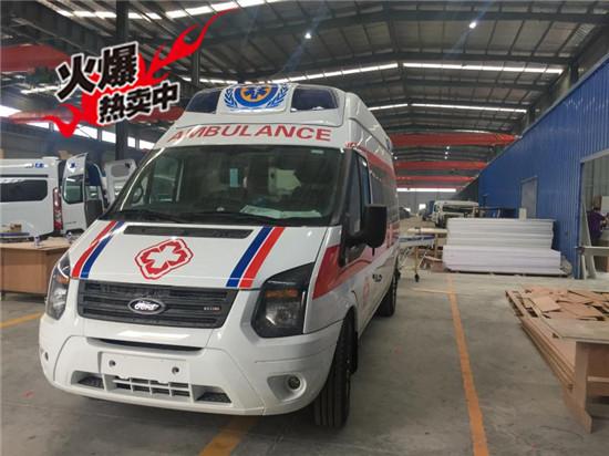 福特新世代全顺救护车(长轴/高顶)