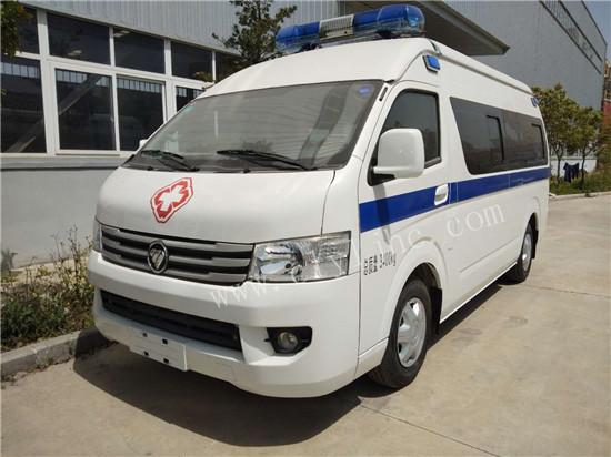 福田G9国六汽油救护车