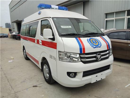 福田风景G7救护车