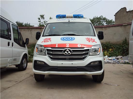 大通V80长轴救护车(卧铺版/监护型)